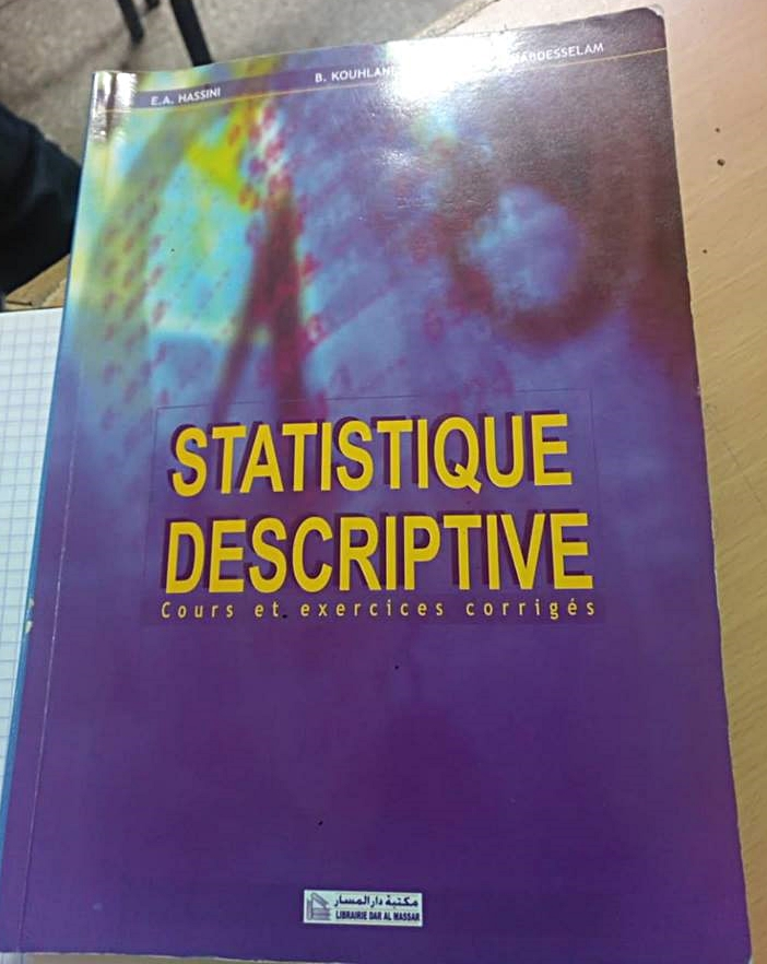 Livre Statistique Descriptive