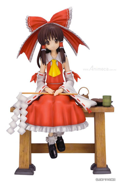 FIGURA Shrine Maiden of Paradise REIMU HAKUREI Nonbiri de Ikou TOUHOU PROJECT