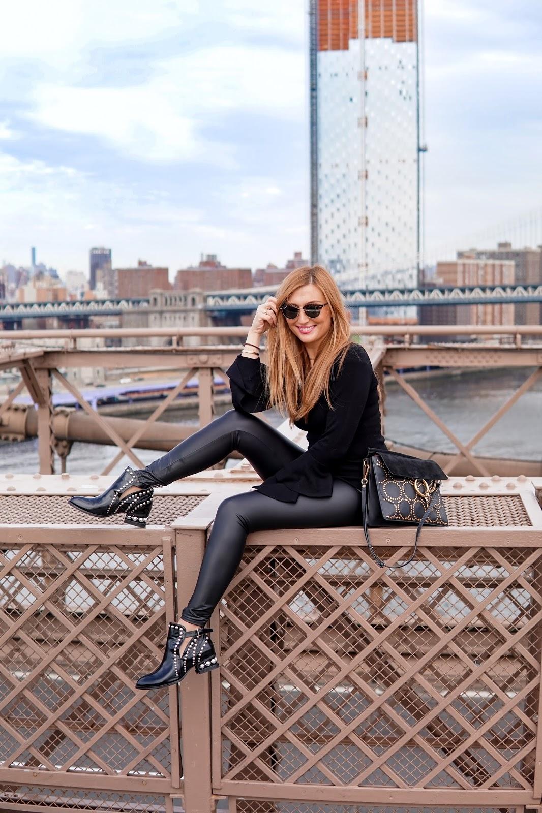 Just-black-lederleggings-schwarze-leggings-bloggertstyle-fashionblogger-outfitinspiration-brooklynbridge-olivia-palermo-style-fashionstylebyjohanna