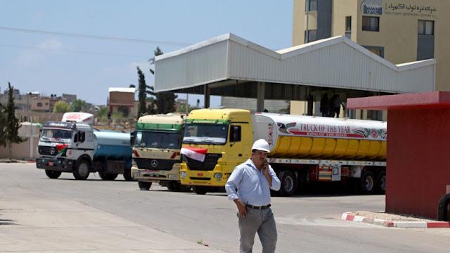 Israel bloquea la entrada de combustible a Gaza en represalia por las cometas incendiarias