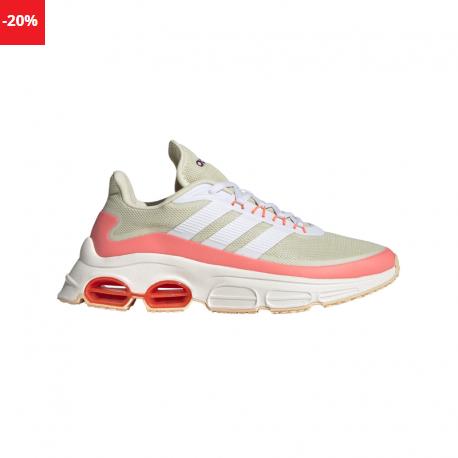Pantofi sport adidas QUADCUBE bej de femei cu talpa groasa
