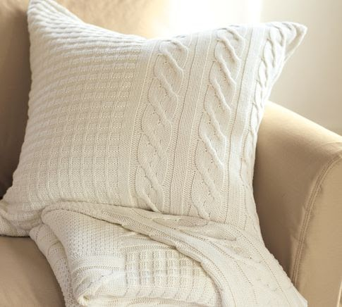 Pbjstories Sweater Pillow Pottery Barn Knock Off