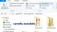 Come creare cartelle invisibili su PC Windows (trucco)