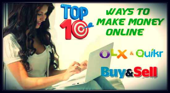 top 10 ways internet online earnings