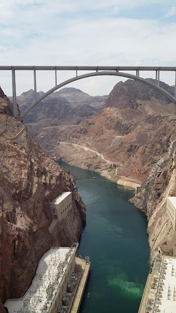 Bridge View of the Hoover Dam