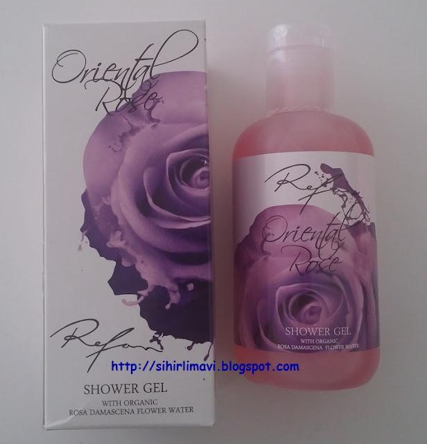sihirlimavi, blog, blogger, refan kozmetik, duş jeli
