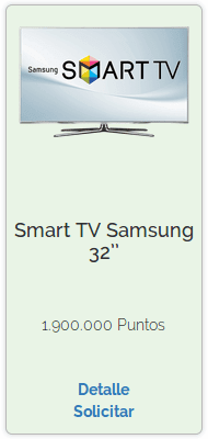 Premio de Smart TV Samsung 32''