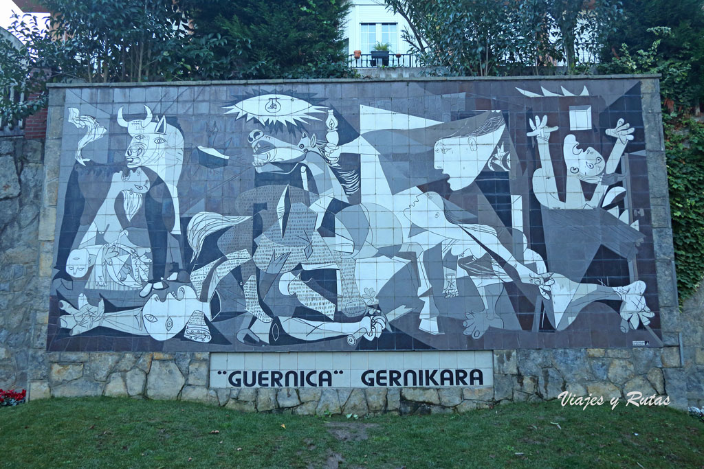 El Guernica de Picasso en azulejos
