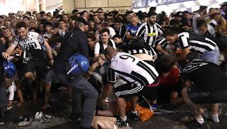 Juventus Kirim Ucapan Duka Kepada Fans Meninggal di Insiden Final Liga Champions
