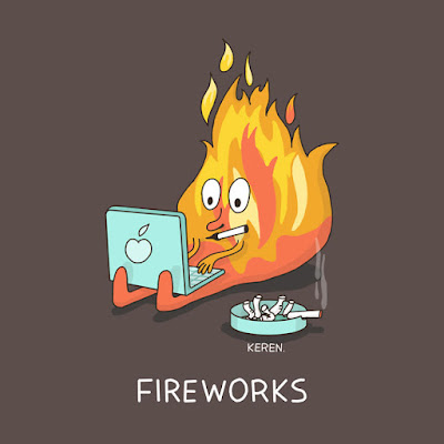 FIRE WORKS.