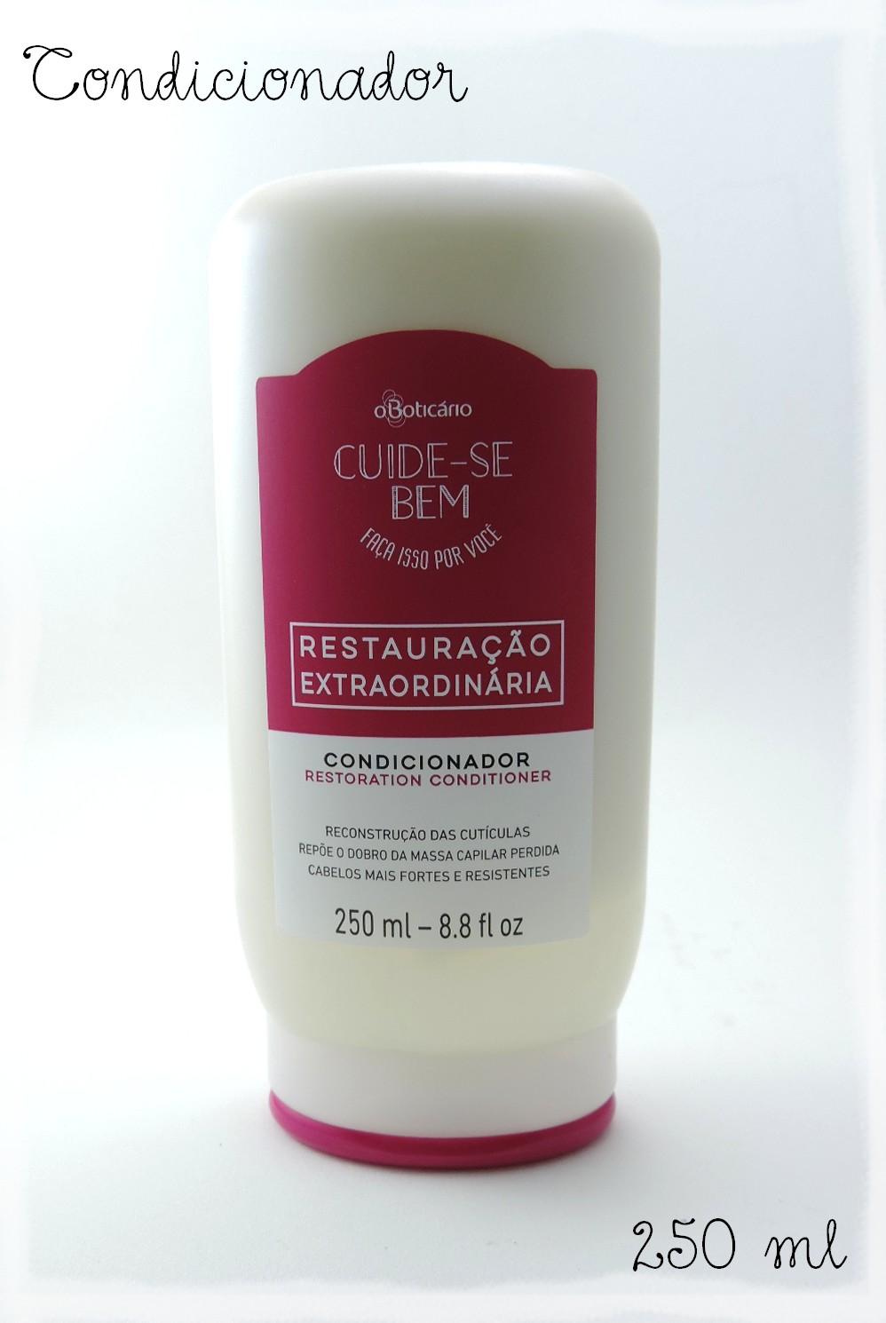 Boticario Cuide-se Bem Shampoo Hidratante 250 Ml hidratacao Imediata