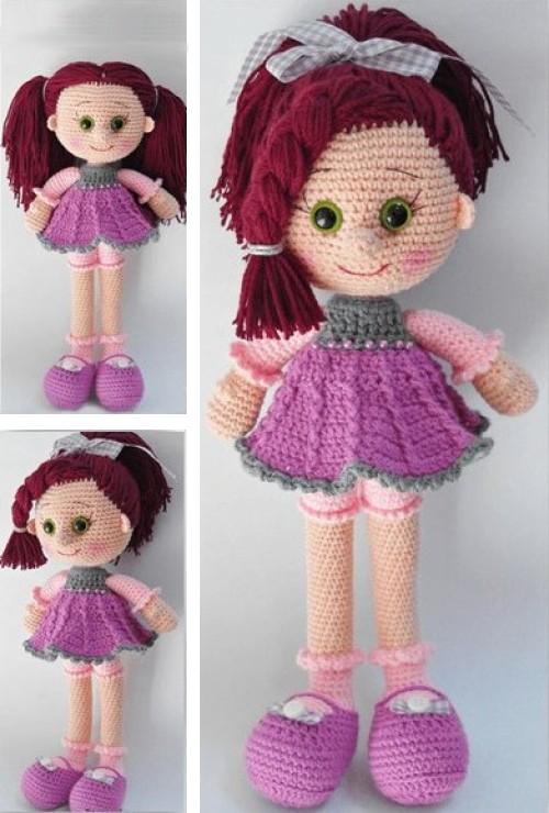 Amigurumi Doll - Free Pattern