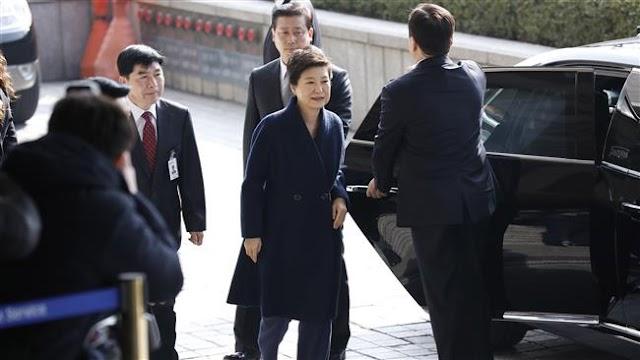 South Korea prosecutors seek South Korea's ousted president Park Geun-hye's arrest