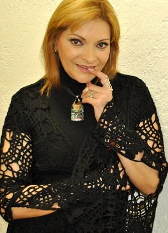 Foto de Rocío Banquells con mirada coqueta