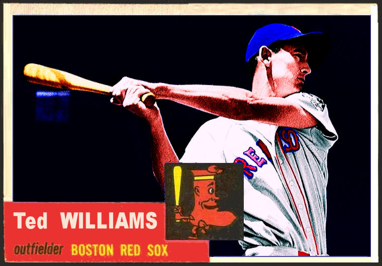 Cards That Never Were 1953 Topps Ted Williams