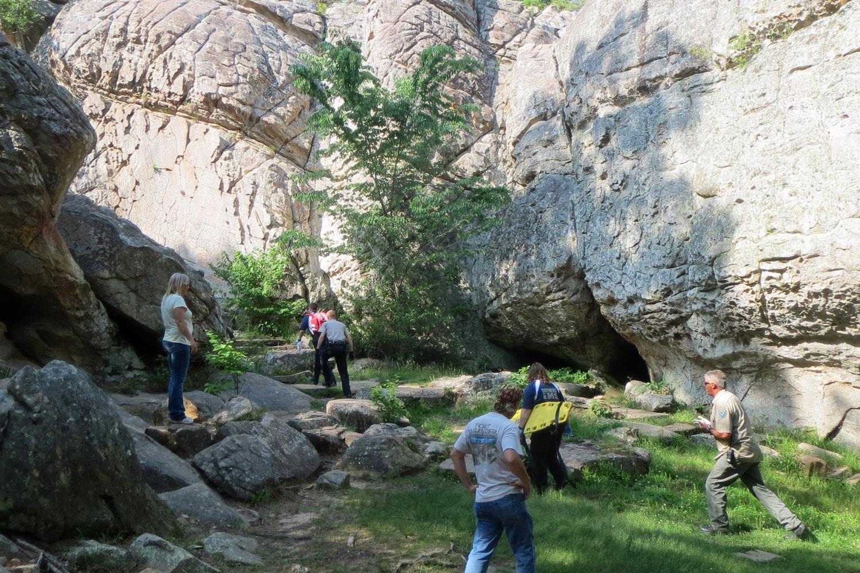 An Arkies Musings: Robbers Cave State Park