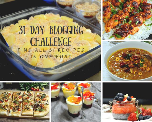 31 Days Blogging Challenge