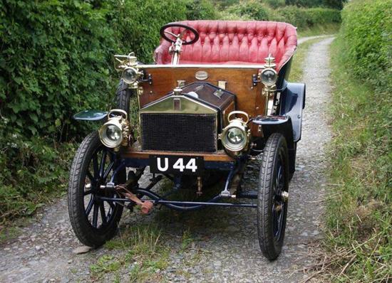 Rolls-Royce 10 hp Type A 1904 - front