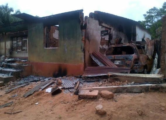 Properties destroyed and burnt by the fulani herdsmen in Enugu