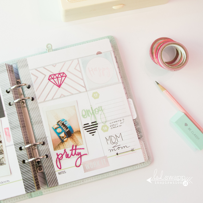Heidi Swapp Memory Planner pages by @createoften