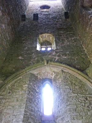 Inside St Michael's Tower, Glastonbury Tor