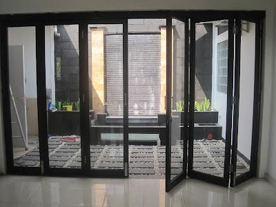 Cara Membuat Pintu Aluminium Kaca Minimalis 1