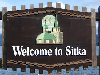 Welcome to Sitka sign