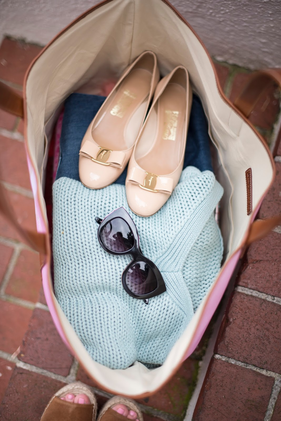 Ferragamo Vara Pumps - Something Delightful Blog