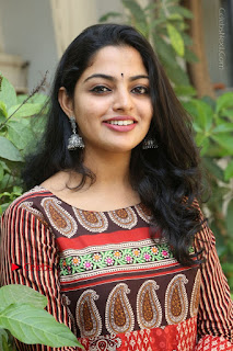 Telugu Actress Nikhila Vimal Latest Stills in Anarkali Dress  0128.JPG