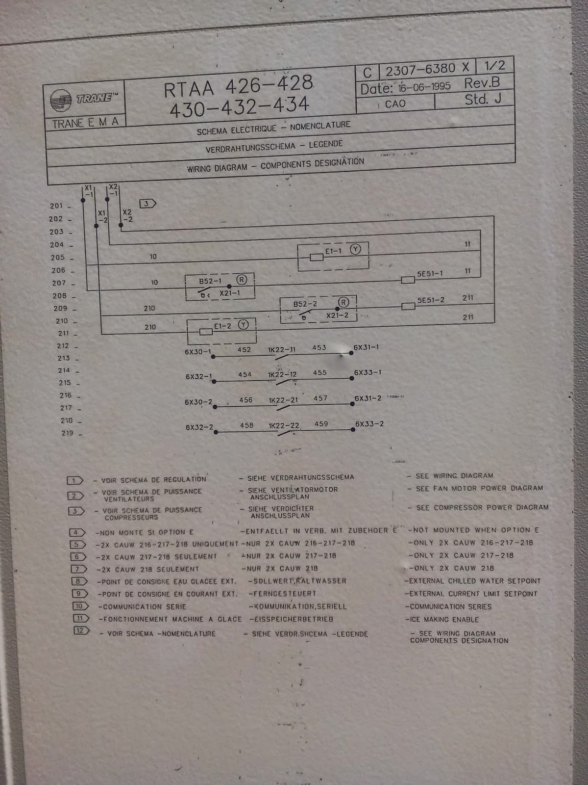 Trane Chiller Wiring Diagram Opinions About Ac Schematics Hvac Chillers Heatpump Air Cooled Control Rtaa Series Rtac
