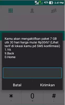 Paket Simpati Ter Murah 7GB Rp.30.000 2017