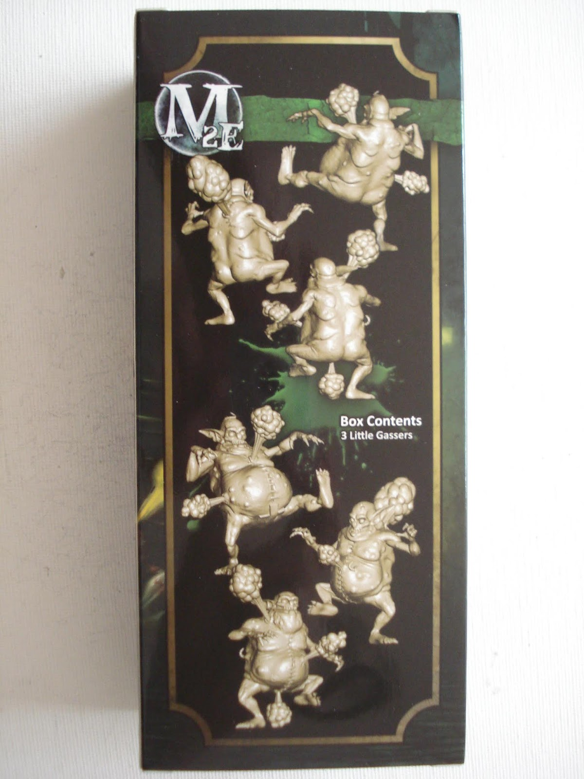 Gmorts Chaotica Unboxing Malifaux Little Gassers