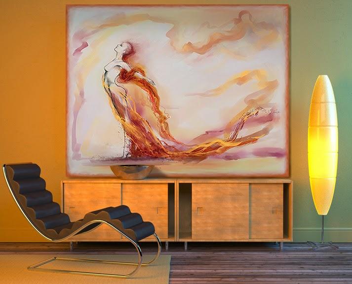 le club d co 39 zeuses d 39 art d co murale les tableaux. Black Bedroom Furniture Sets. Home Design Ideas