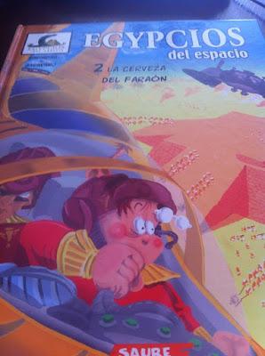 Un libro para leer, cosas de bebes, niños, lectura infantil, lectura, comic, egypcios del espacio, La cerveza del Faraon, Agrimbau y Garavano, Libros que leer, libros, lecturas recomendadas
