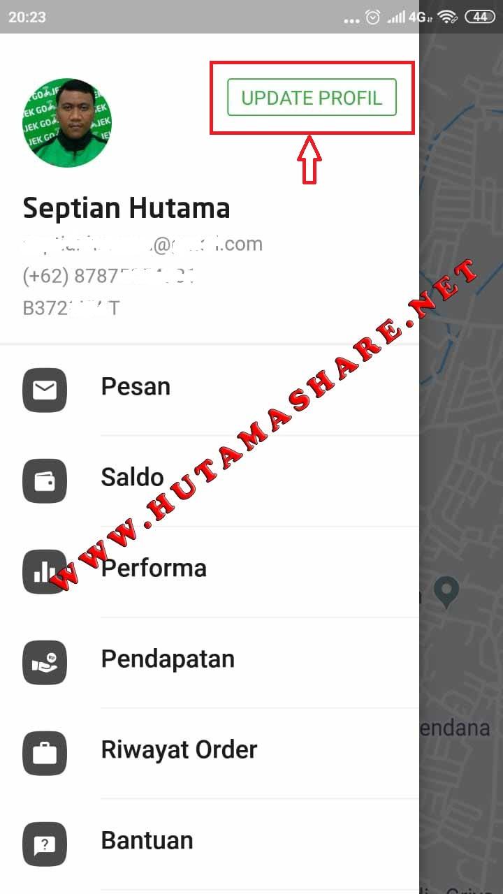 Cara Merubah Nomor Hp Untuk Login Ke Aplikasi Gojek Driver Hutama Share