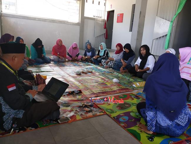 Wujudkan Perbaikan Akhlak Napi Wanita,  Lapas Lamteng Kerjasama Dengan Kemenang Beri Pembinaan