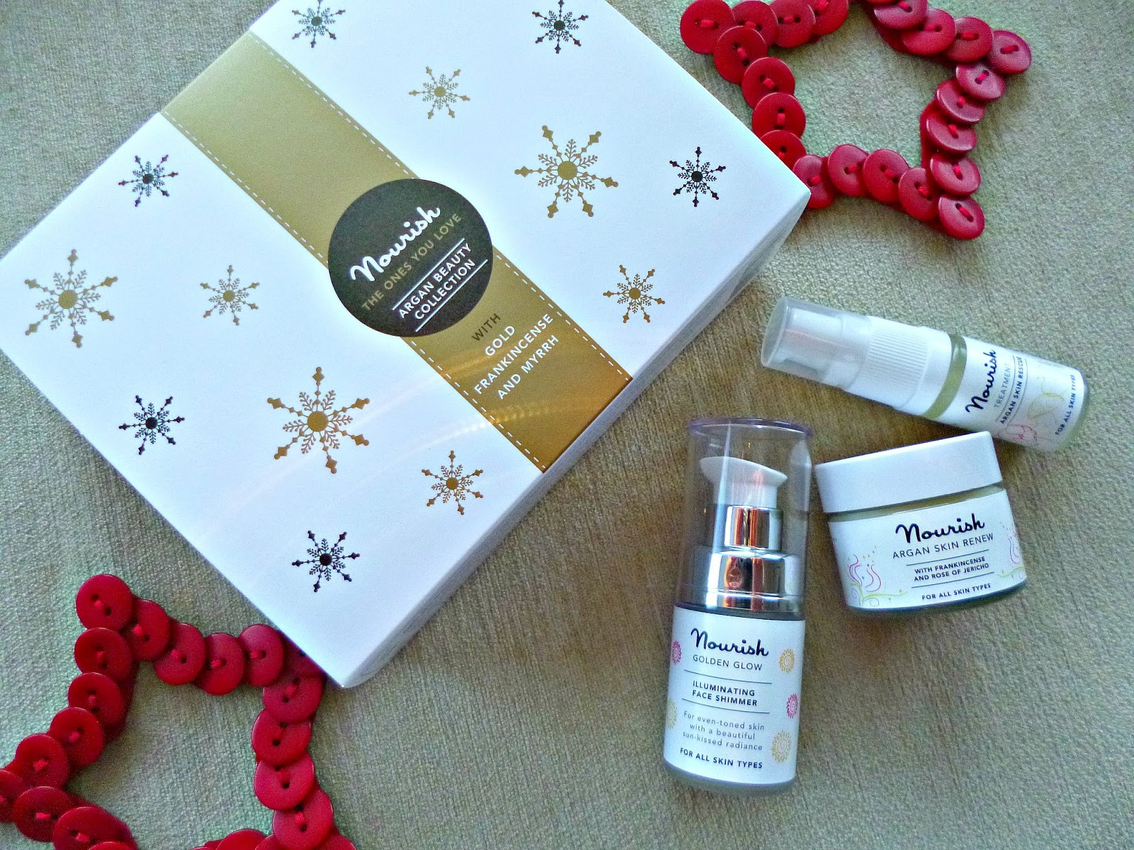 Gift idea – Nourish Argan beauty collection