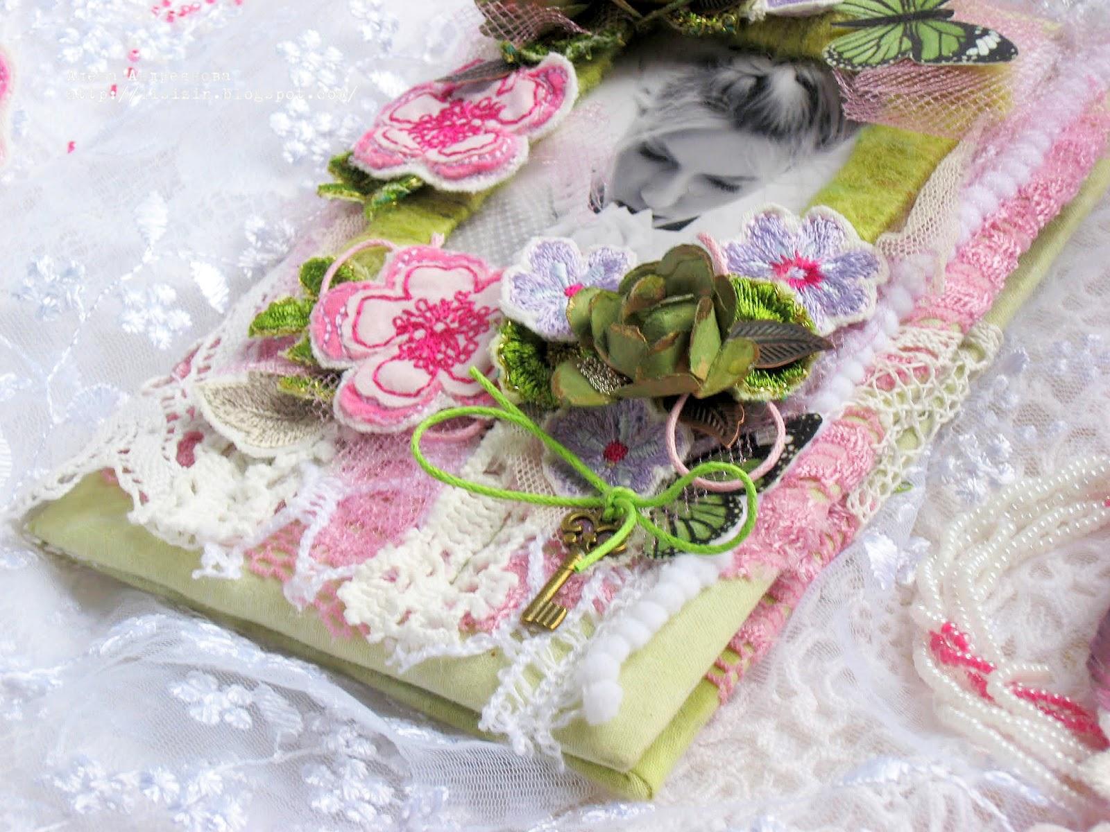 Открытка текстильные