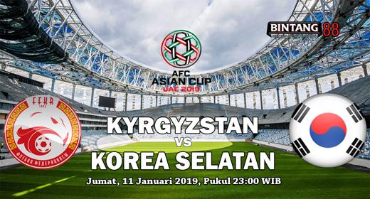 Prediksi Kyrgyzstan Vs Korea Selatan 11 Januari 2019