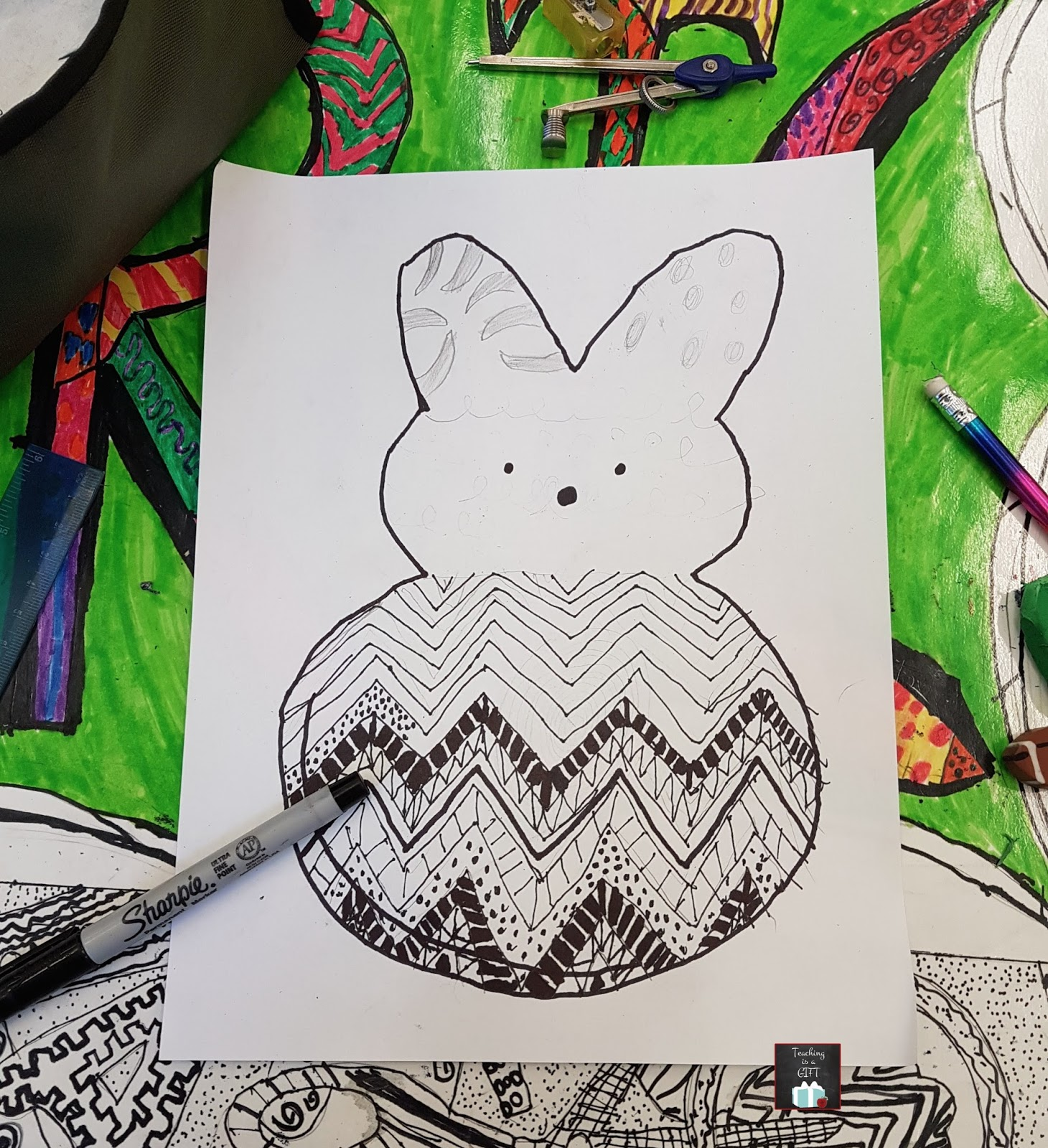 Pop Art Easter Icons Teachingisagift Bloglovin