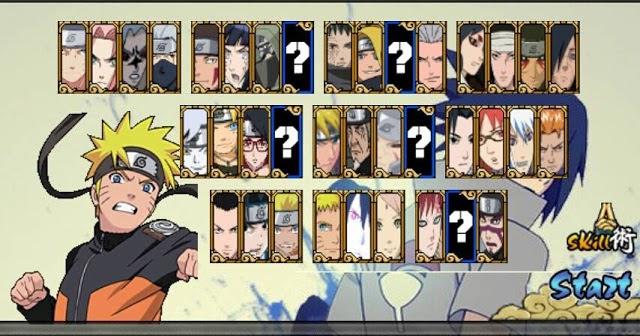 Naruto Senki NSUNS 4 Overkill v1 Mod Apk Full Characters ...