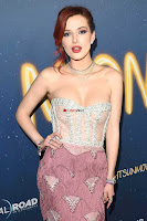 Bella Thorne looks stunnign in a designer gown at the Premiere of Midnight Sun ~  Exclusive Galleries 003.jpg