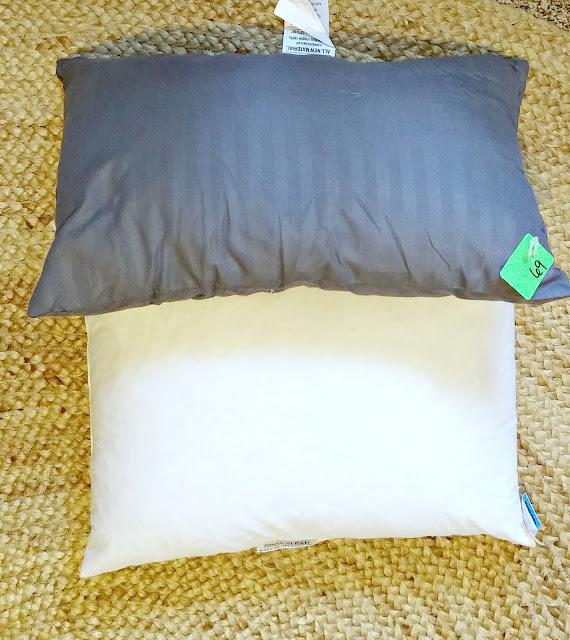 Repurposed Vinyl Tablecloth Pillows Little Vintage Cottage