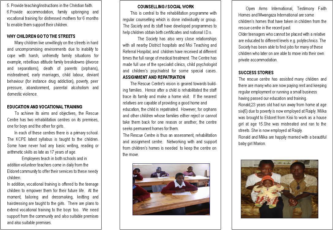 camp brochure examples