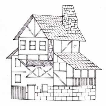 Sutori Dibujo De Escenarios 2 Cómo Dibujar Casas Y Edificios