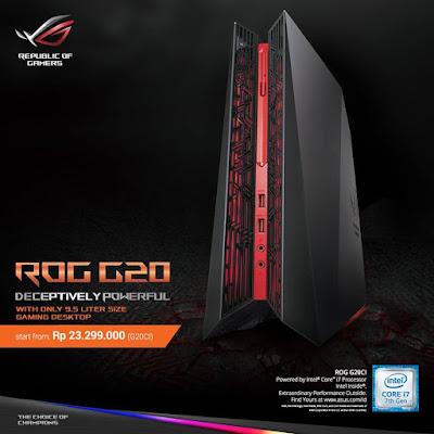 ASUS Dekstop Gaming ROG G20 | Rp23.299.000