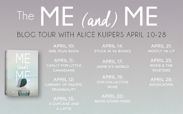 The Me (and) Me Blog Tour schedule