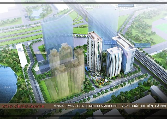 Dự án Vinata Tower hút khách vì sao?