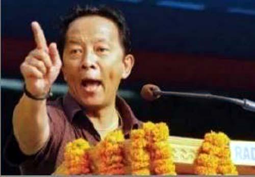 Binay Tamang Angry