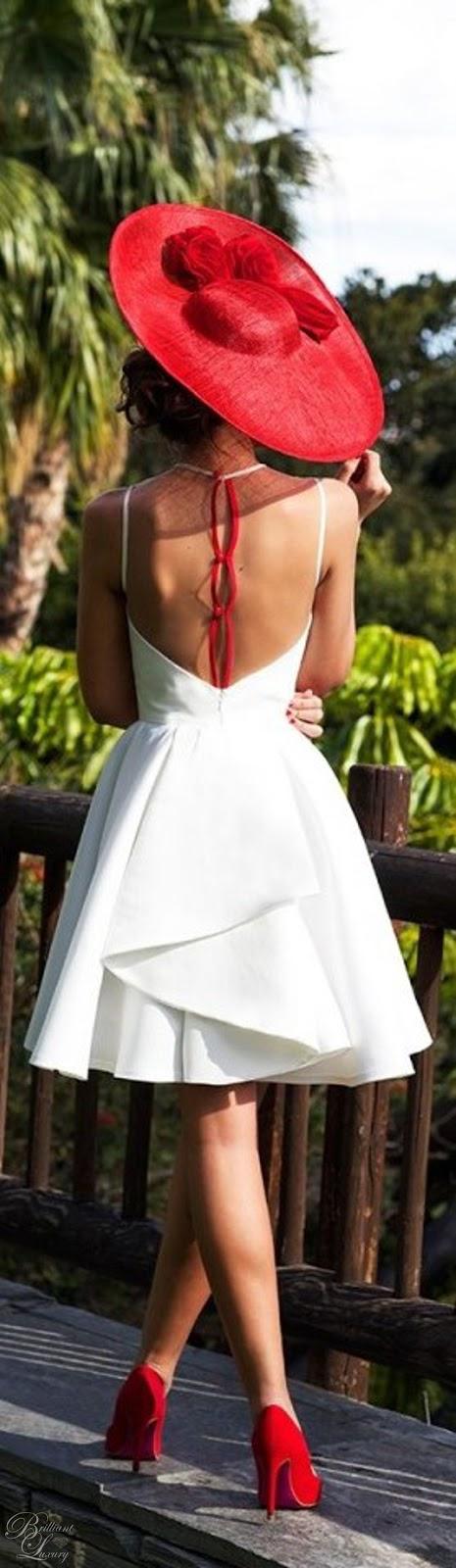 Brilliant Luxury ♦ Silvia Navarro white Orquidea dress